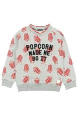 Sturdy Sturdy sweater Popcorn - Popcorn Power grijs melange