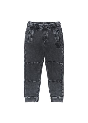 Sturdy Sturdy broek Acid Wash - Popcorn Power antraciet