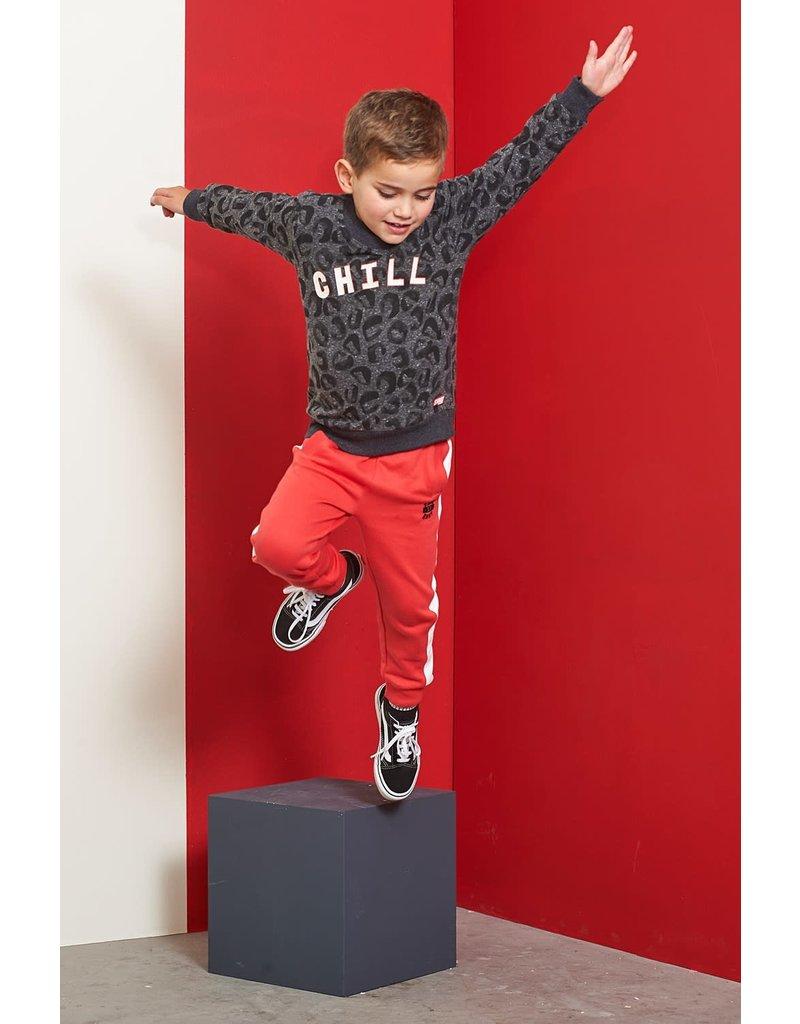 Sturdy Sturdy sporty broek - Popcorn Power rood