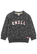 Sturdy Sturdy sweater Chill - Popcorn Power antraciet melange