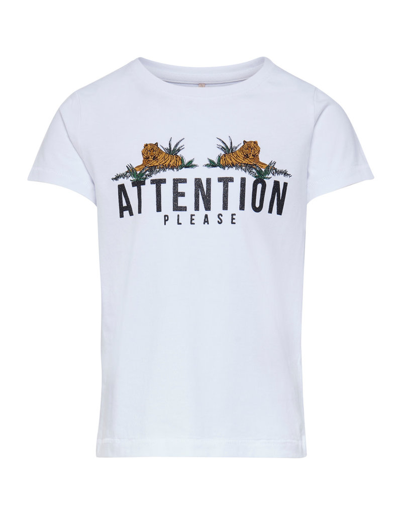 Kids Only Kids Only shirt Konkita life tigers bright white attention