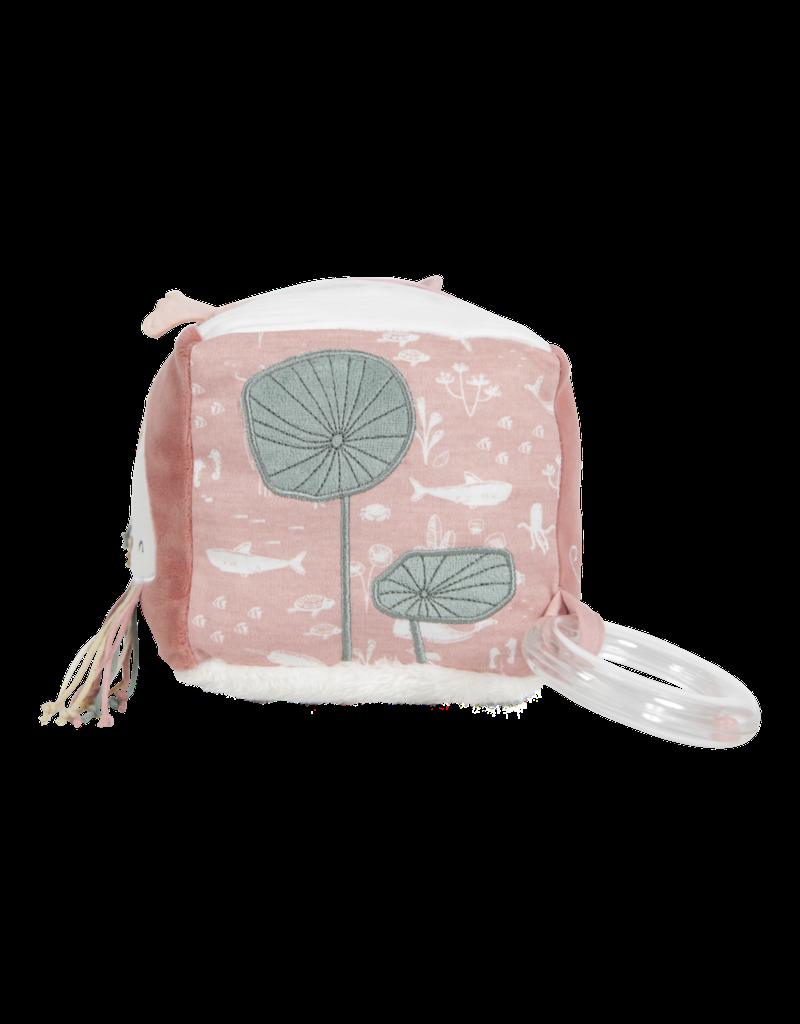 Little Dutch Activiteitenkubus soft ocean pink