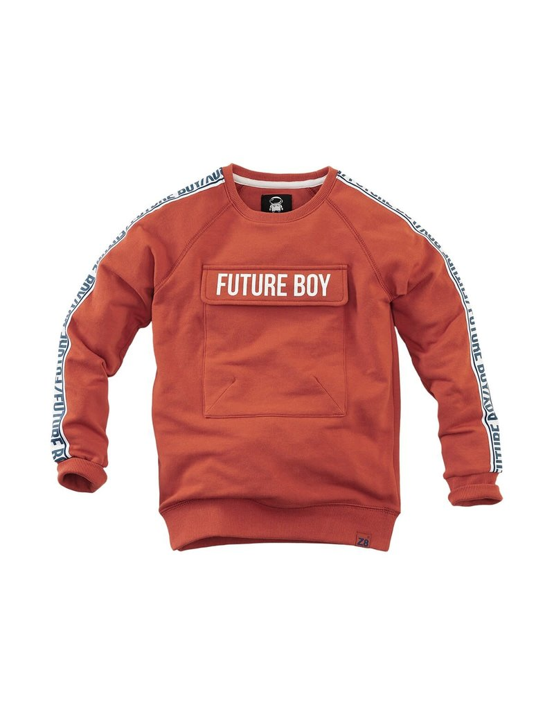 Z8 Z8 sweater Luca  burnt brick
