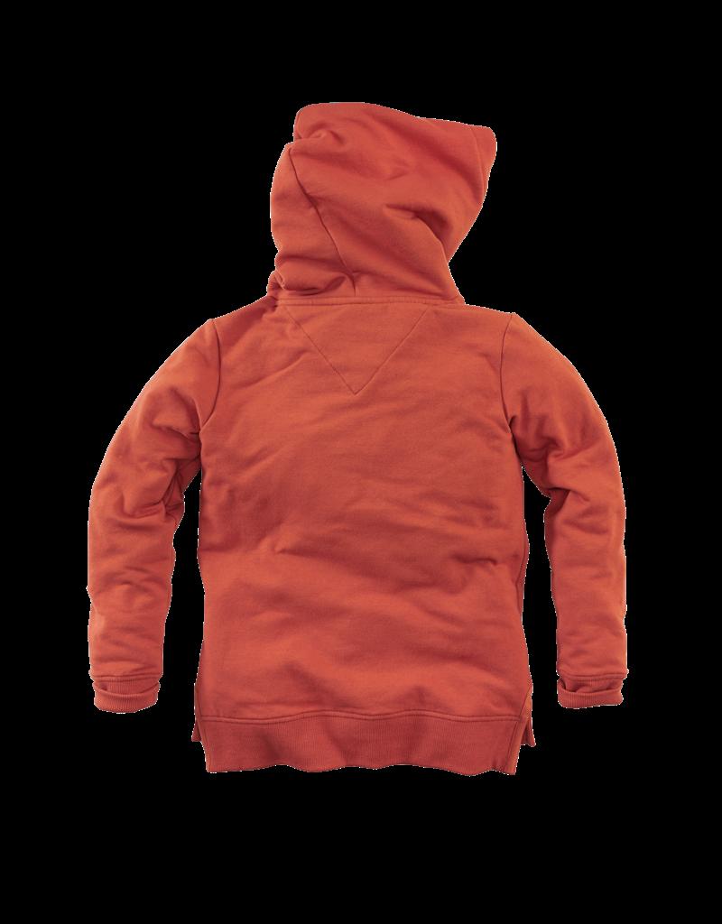 Z8 Z8 hooded sweater Silvain burnt brick