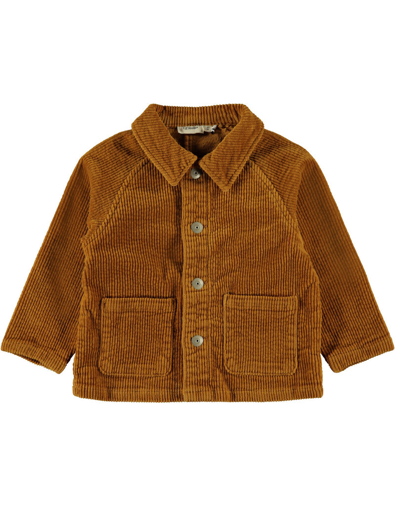 Lil' Atelier Lil' Atelier vest Nmmgismon cathay spice