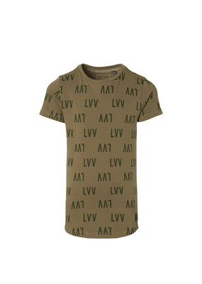 Levv Levv shirt Kai dusty green