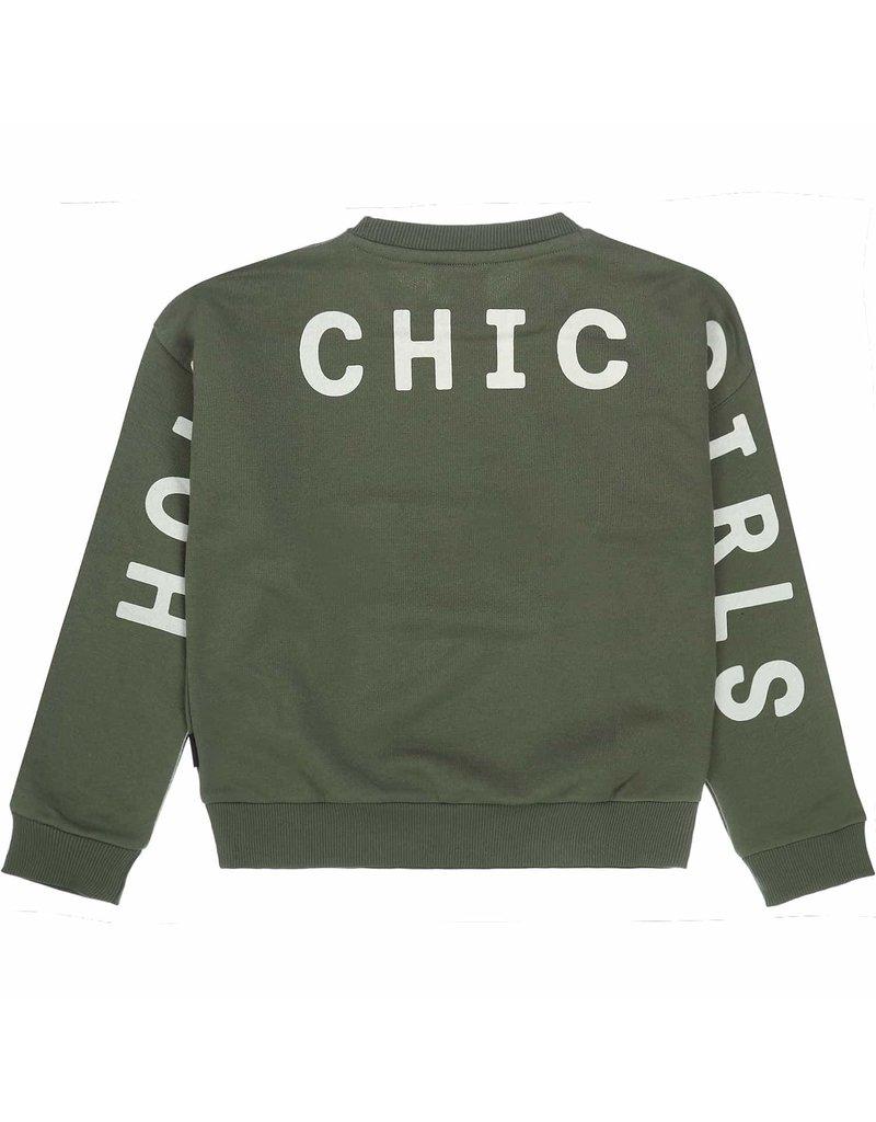 Tumble 'n Dry Tumble n Dry sweater Vajenn army green