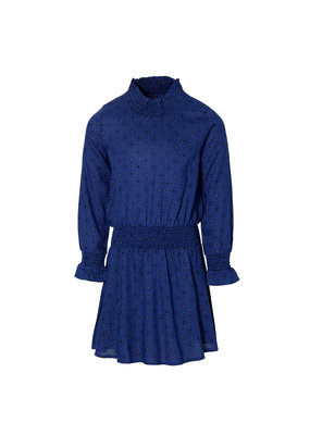 Quapi Quapi jurk Dalina marine dress blue retro