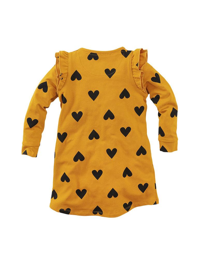 Z8 Z8 jurk Adelaide ginger gold