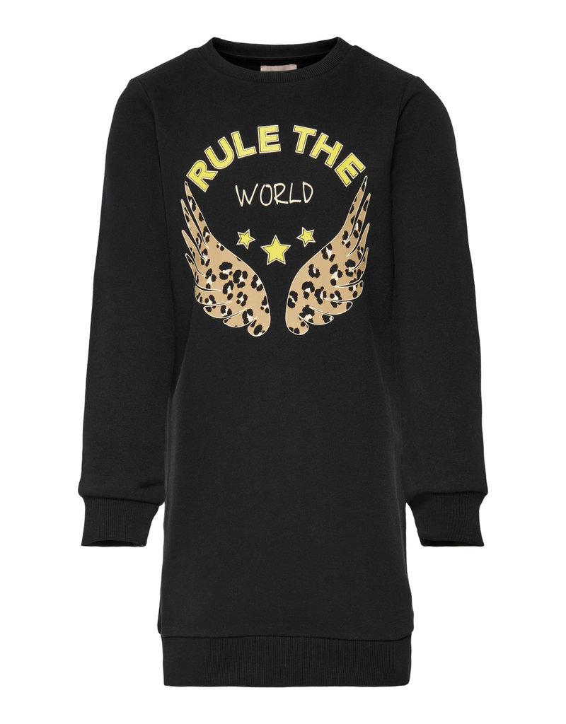 """Kids Only Kids Only jurk Konrollo black """"rule the world"""""""