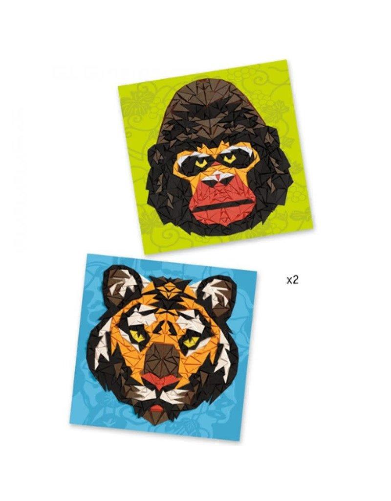 Djeco Djeco mozaiek wilde dieren dj08887