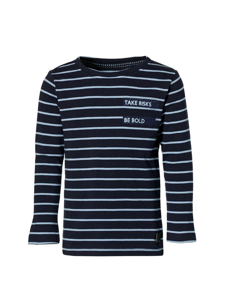 Levv Levv longsleeve Lambert dark blue stripe