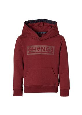 Levv Levv sweater met capuchon Lewis winter red