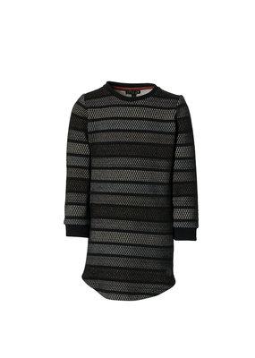 Levv Levv jurk Layla black stripe