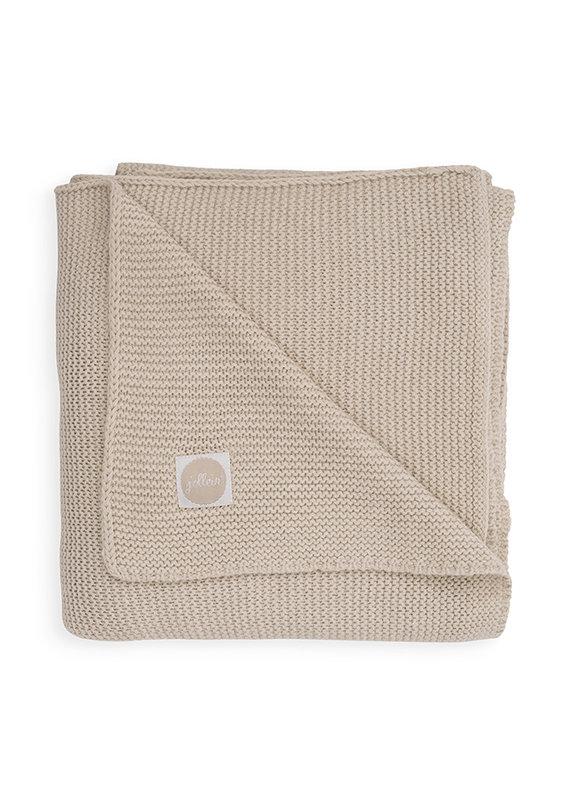 Jollein Jollein Deken 75x100 basic knit nougat