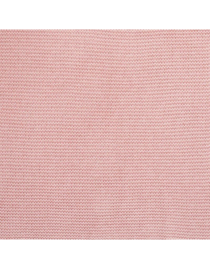 Jollein Jollein Deken 75x100 basic knit blush pink