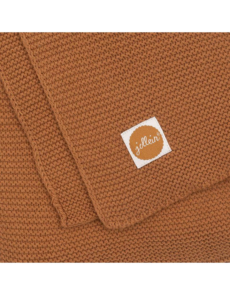 Jollein Jollein Deken 75x100 basic knit caramel