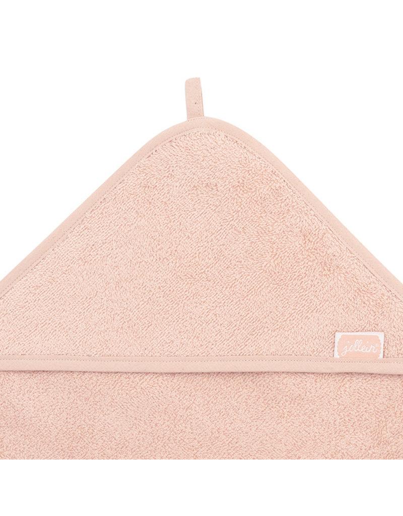 Jollein Jollein Badcape badstof pale pink