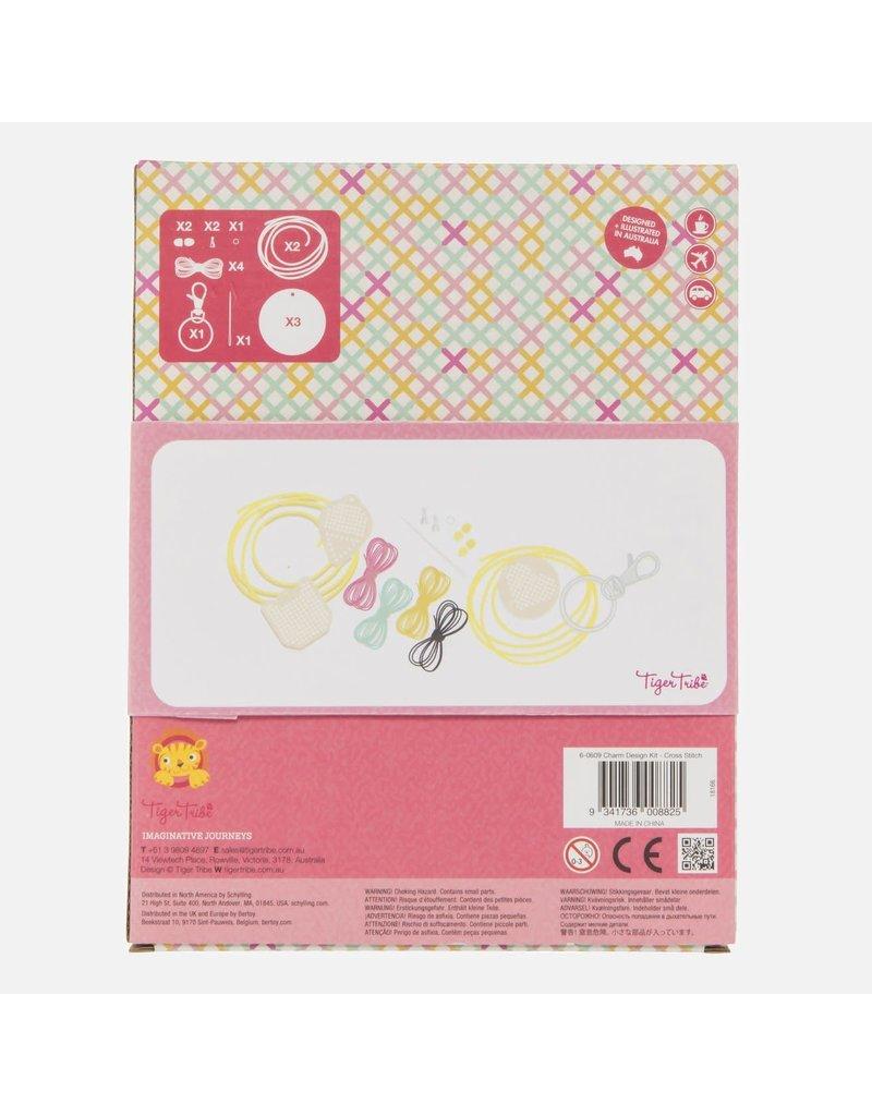 Tiger Tribe Charm Design Kit Cross Stitch
