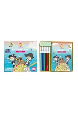 Tiger Tribe Colouring Pack Pirates