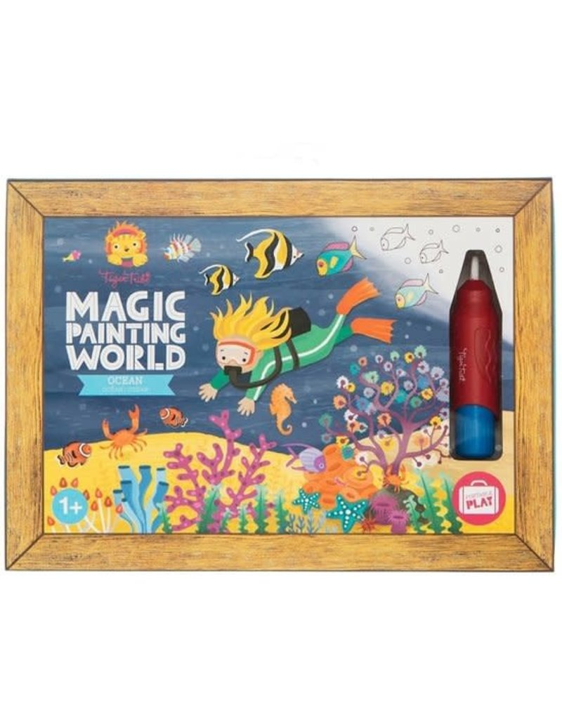 Tiger Tribe Magic Painting Ocean