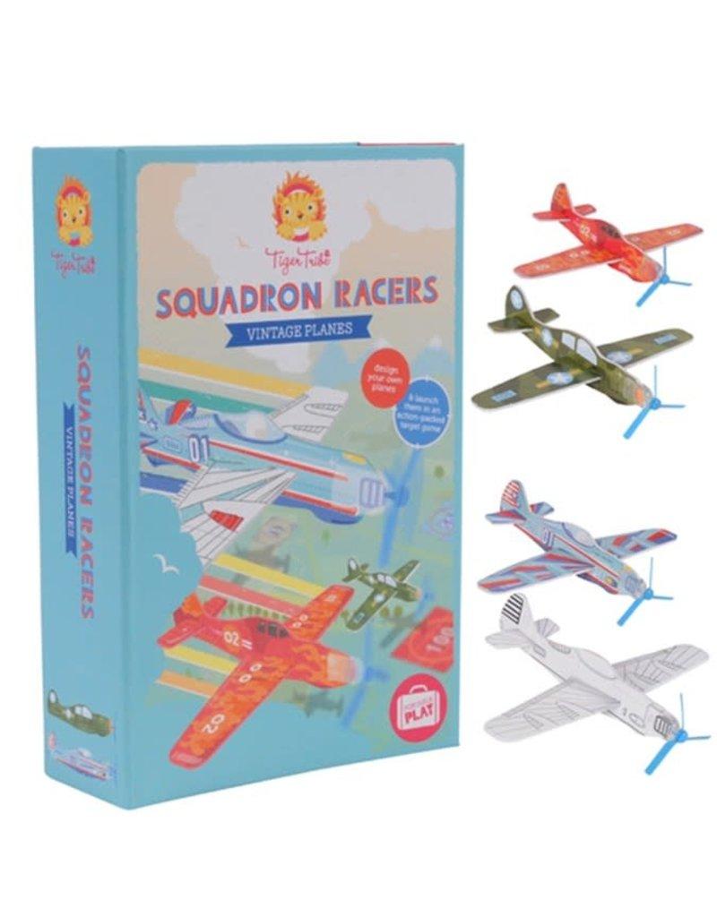 Tiger Tribe Squadron Racers Vintage Planes