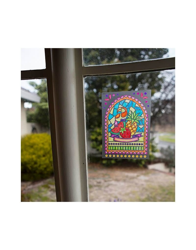 Tiger Tribe Stained Glass Set Sunbean Dreams