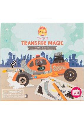 Tiger Tribe Transfer Magic Create a Car
