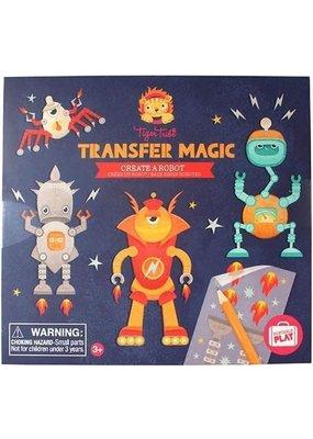 Tiger Tribe Transfer Magic Create a Robot