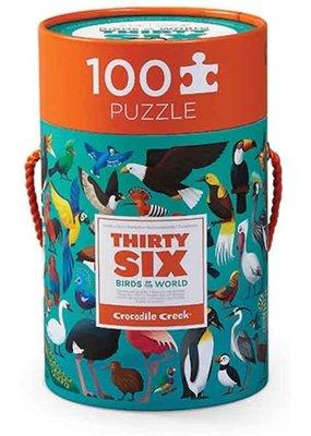 Crocodile Creek Puzzel Birds 100pc