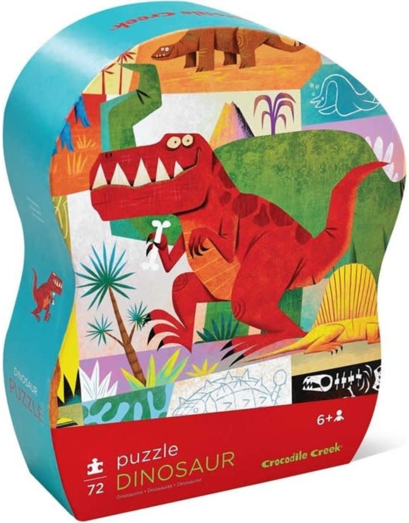 Crocodile Creek Puzzel Dinosaur 72 pc