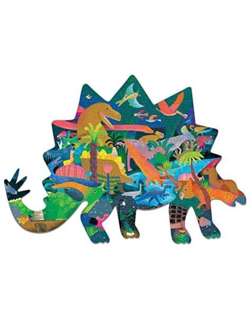 Mudpuppy Shaped Puzzel Dinosaurs 300pc