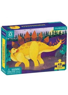 Mudpuppy Mini Puzzel Stegosaurus 48pc