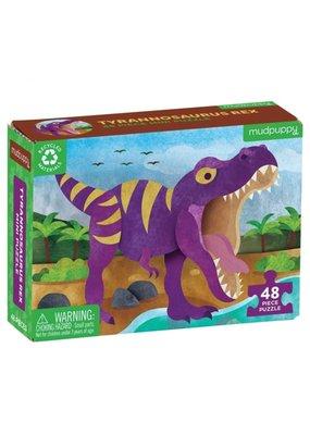 Mudpuppy Mini Puzzel Tyrannosaurus Rex 48pc