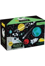 Mudpuppy Glow in the Dark Puzzel Outer Space 100pc