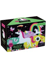 Mudpuppy Glow in the Dark Puzzel Unicorns 100pc