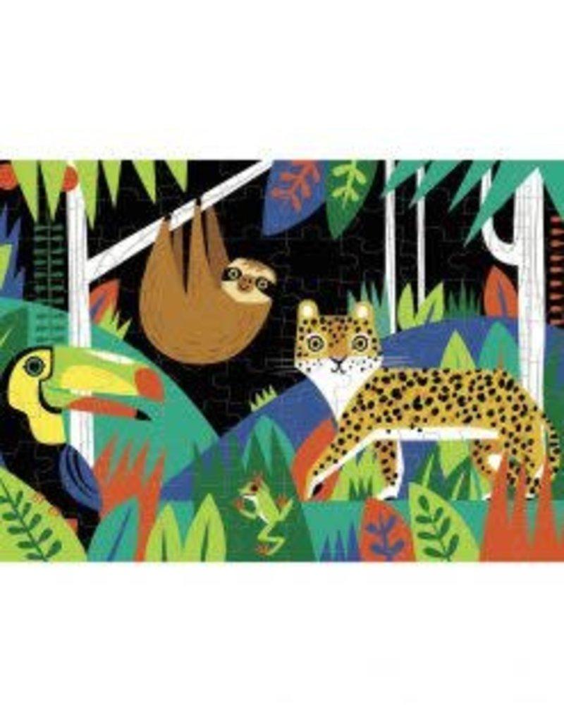 Mudpuppy Glow in the Dark Puzzle Rainforest 100pc