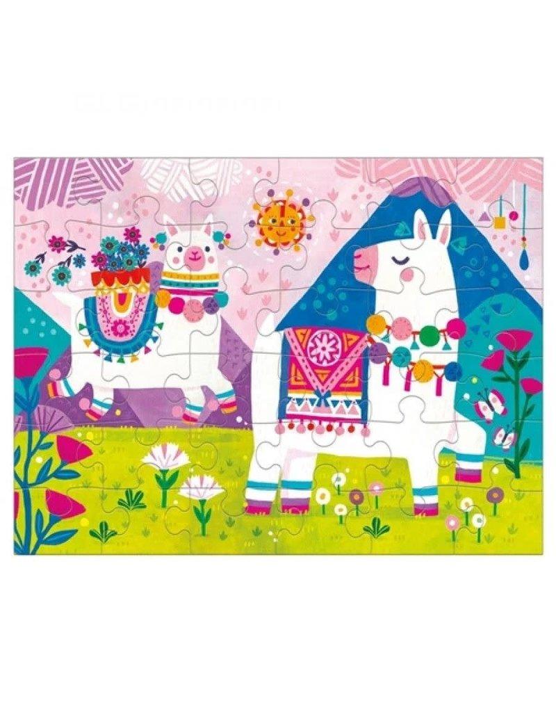 Mudpuppy Puzzel To Go Llama Land 36pc