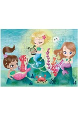 Mudpuppy Puzzel To Go Mermaids 36pc