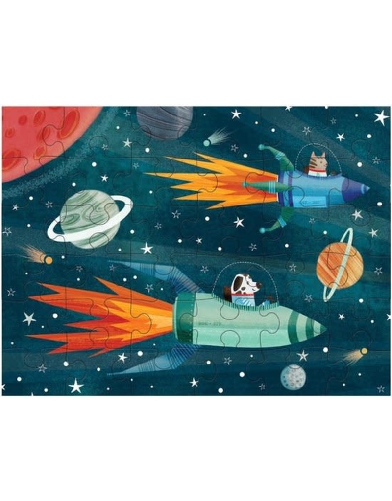 Mudpuppy Puzzel To Go Outer Space 36pc