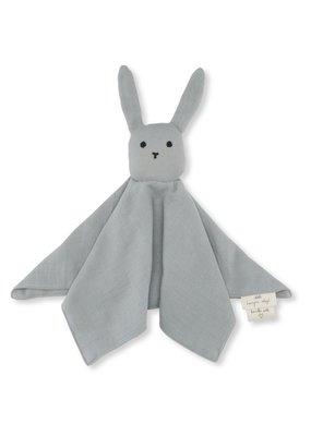 konges slojd Knuffeldoekje sleepy rabbit French blue
