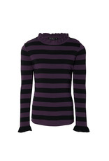 Levv Levv longsleeve Karly deep purple stripe