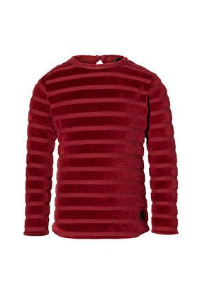 Levv Levv longsleeve Liv dark red stripe