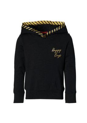 Levv Levv sweater met capuchon Liz black