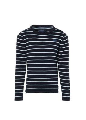 Levv Levv sweater Kjell dark blue