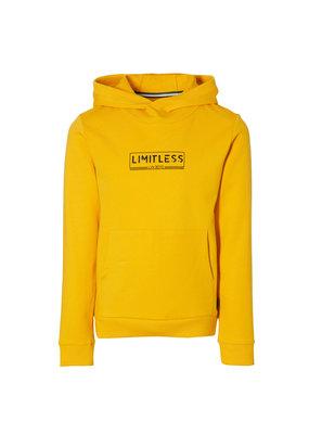 Levv Levv sweater met capuchon Kenzo warm yellow
