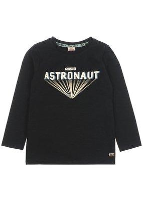 Sturdy Sturdy longsleeve Astronaut - Spacelab zwart melange