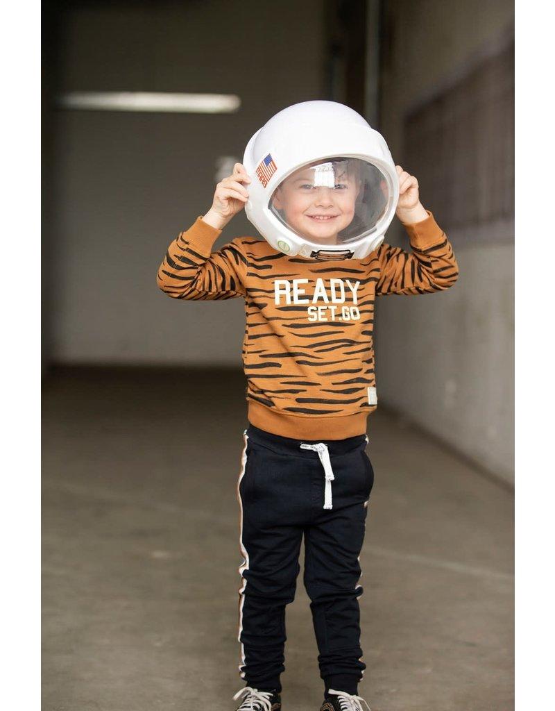 Sturdy Sturdy sweater Moon Rocker - Spacelab bruin