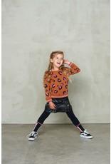 Jubel Jubel sweater AOP - Animal Attitude bruin