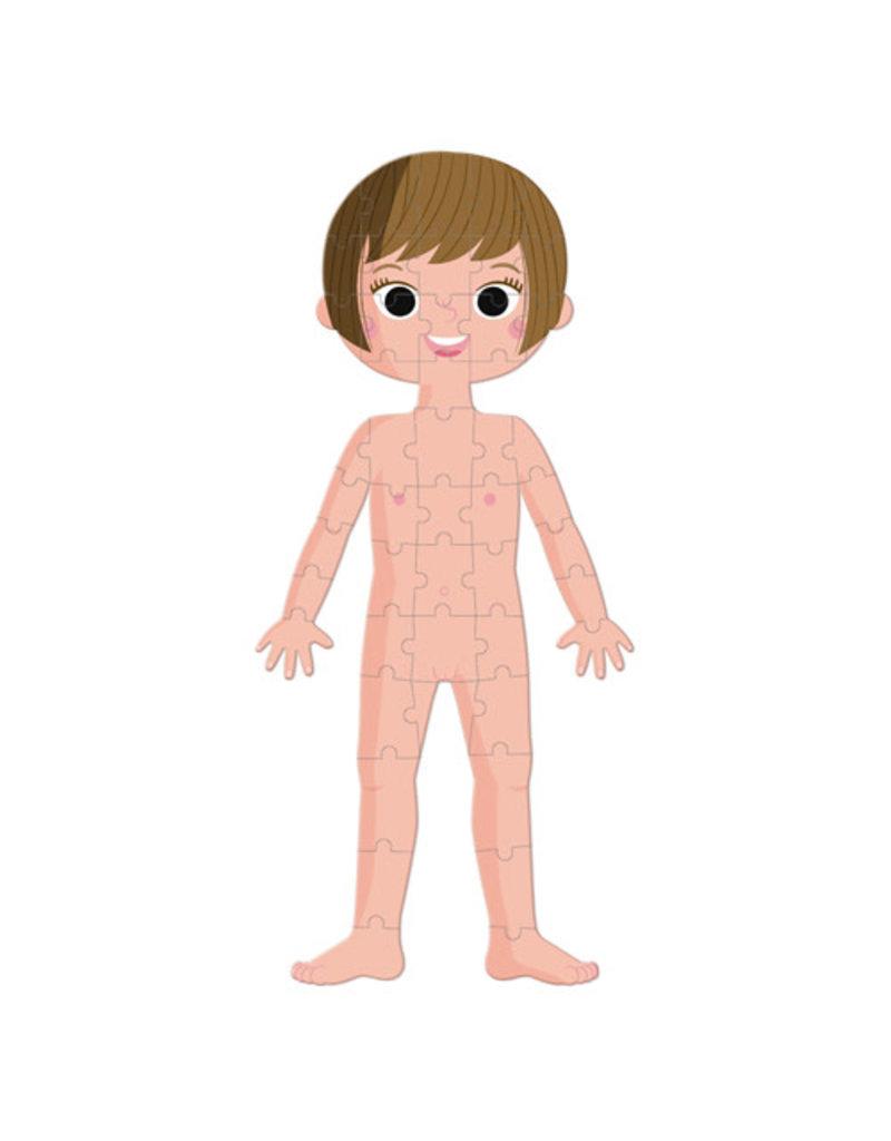 Janod Janod puzzel Menselijk lichaam
